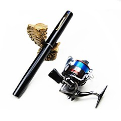 cheap Fishing Rods-Fishing Rod + Reel Fishing Rod Mini Rod / Pen Rod Pen Rod Carbon Sea Fishing Ice Fishing Freshwater Fishing Lure Fishing Rod & Reel Combos