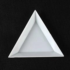 1PCS三角ネイルアートキットの収納ボックス