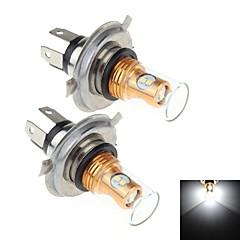 2stk h4 8w 8x samsung 2323 smd 900lm 6000k hvite lys ledet for bil brems / signal styring / tåkelys lampen (DC10 ~ 30V)