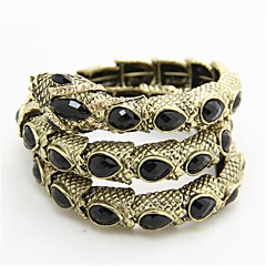cheap Bracelets-Women's Strand Alloy Jewelry Daily Costume Jewelry Bronze