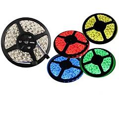 olcso Dekorativna rasvjeta-ZDM® 5 m LED-es szalagfények 300 LED 3528 SMD Meleg fehér / Hideg fehér / Piros Vízálló / Cuttable / Összekapcsolható 12 V 1db / IP65 / Öntapadós
