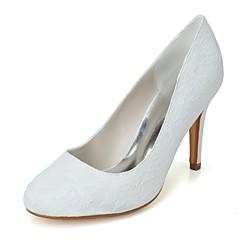 Γάμος Παπούτσια - Γυναικεία - Με Τακούνι   Στρογγυλή Μύτη - Γόβες - Γάμος    Πάρτι   Βραδινή Έξοδος - Μαύρο   Μπλε   Ροζ   Ιβουάρ   Άσπρο 7cec363513a