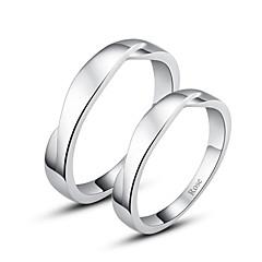 Ringen Stelletjes Zilver Zilver Zilver De kleur van verfraaiingen worden getoond als afbeelding.