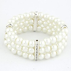 Fashion Wild Temperament Rhinestone Pearl Bracelet (More Colors) Gifts