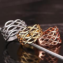 Naisten Tyylikkäät sormukset pukukorut Platinum Plated Gold Plated Korut Käyttötarkoitus Häät Party Päivittäin Kausaliteetti