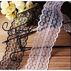 DIY 4.5cm Width Flower Weaving Border Craft Lace Ribbon (2 Yards)