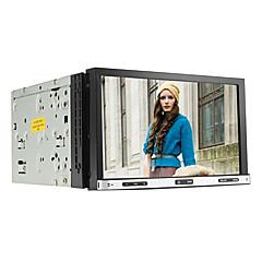billiga DVD-spelare till bilen-7 tum Windows CE 6.0 GPS / Pekskärm / Inbyggd Bluetooth för Universell Stöd / iPod / RDS / Rattstyrning / Subwoofer-utgång / SD / USB-stöd
