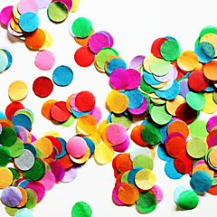 Ünnepség dekoráció-2500Piece / SetMenyasszonyköszöntő Újszülöttköszöntő Érettségi Diákbál Születésnap Karácsony Mindszentek napja Bálint