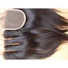 cheap Wigs & Hair Pieces-PANSY Hair weave Human Hair Extensions Straight Classic Human Hair Brazilian Hair Women's - Natural Black