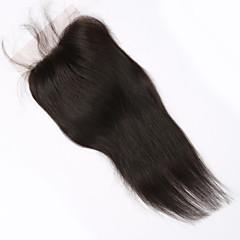 Χαμηλού Κόστους Τούφες Μαλλιών-Ίσιο - Καφέ Hair Extension - από Ανθρώπινη Τρίχα - για Γυναικείο