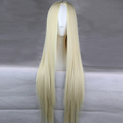 cheap Wigs & Hair Pieces-Synthetic Wig Straight Synthetic Hair Wig Capless L16-613 Bleach Blonde
