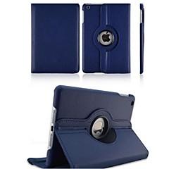 For Elma iPad 2/iPad 4/iPad 3 - Tek Renk - 360⁰ Kılıflar/Origami Kutuları (PU Deri , Kırmızı/Siyah/Yeşil/Mavi/Kahverengi/Pembe/Mor)