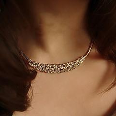 בגדי ריקוד נשים שרשראות מחרוזת שרשראות וינטג קעקוע קולר תכשיטים מצופה כסף ציפוי זהב סגנון קעקוע אופנתי תכשיטים תכשיטים עבור חתונה Party