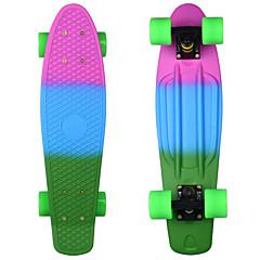 22 Zoll Standard-Skateboards Abec-11 Regenbogen
