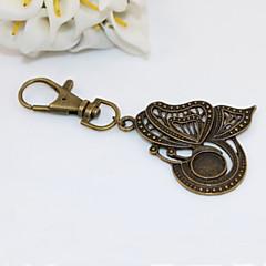 muoti unisex retro kovertaa perhonen riipus avaimenperiä