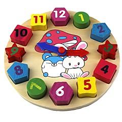 Baby-Spielzeug Geometrie kognitiven Uhr
