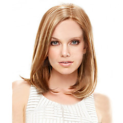 cheap Wigs & Hair Pieces-Synthetic Wig Women's Straight Brown Bob Synthetic Hair 9 inch Natural Hairline Brown Wig Short Capless Light Blonde