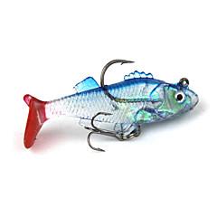 billiga Fiskbeten och flugor-Mjukt bete Fiskbete Fiske krokar Fiske - 1 st Metall Silikon - Sjöfiske Kastfiske Färskvatten Fiske Trolling & Båt Fiske Generellt fiske