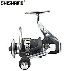 cheap Fishing Reels-Fishing Reel Spinning Reel 4.7:1 Gear Ratio+13 Ball Bearings Hand Orientation Exchangable Sea Fishing Bait Casting Ice Fishing Spinning