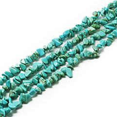 """beadia turkis stein perler 5-8mm uregelmessig form DIY løs perler fit kjede armbånd smykker 34 """"/ str"""