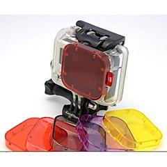 cheap Accessories For GoPro-For Action Camera Gopro 5 Gopro 3 Gopro 2 Diving & Snorkeling PU Leather