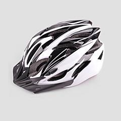 男女兼用 - サイクリング/マウンテンサイクリング/ロードバイク/レクリエーションサイクリング - マウンテン/ロード - ヘルメット ( ホワイト/ブルー , EPS+EPU ) サイクリング/マウンテンサイクリング/ロードバイク/レクリエーションサイクリング 24 通気孔
