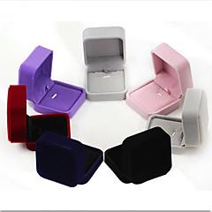 billige Smykkeemballage og displays-Smykkeskrin - Mode Mørkeblå, Sort, Rød 7 cm 7 cm 4 cm / Dame