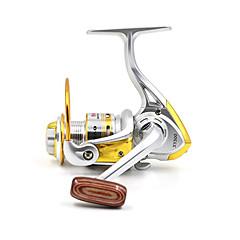 お買い得  -リール スピニングリール 5.2:1 10 ボールベアリング 交換可能 ベイトキャスティング / 穴釣り / スピニング / 川釣り / その他 / 鯉釣り / バス釣り / ルアー釣り / 一般的な釣り / 流し釣り/船釣り - XY500 DEBAO