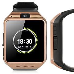 tanie Inteligentne zegarki-Inteligentny zegarek GV08 na Android Bluetooth USB Ekran dotykowy Spalonych kalorii Długi czas czuwania Kamera Śledzenie Odległość Czasomierze Powiadamianie o połączeniu telefonicznym Rejestrator