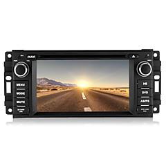 billiga DVD-spelare till bilen-Chtechi 6.2 tum 2 Din Windows CE 6.0 / Windows CE In-Dash DVD-spelare Inbyggd Bluetooth / GPS / 3D-gränssnitt för Jeep Stöd / Rattstyrning / Subwoofer-utgång / Spel / Pekskärm / SD / USB-stöd