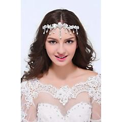 נשים כסף סטרלינג סגסוגת כיסוי ראש-חתונה אירוע מיוחד קז'ואל שרשרת ראש חלק 1