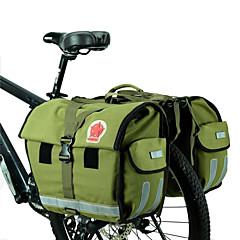 levne Brašny na kolo-ROSWHEEL 45 L Kufr na kola / Brašna na koš Voděodolný, Nastavitelná Cyklistická taška Plátno / Vodotěsný materiál Taška na kolo Taška na
