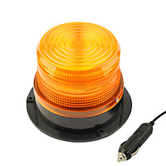 軽量化と赤/黄DC12Vハイパワー車磁気警告フラッシュビーコンストロボ緊急光をdearroad