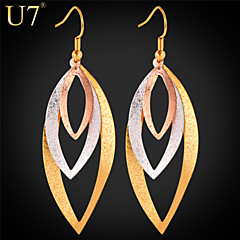 cheap Earrings-Women's Vintage Cute Party Work Casual Fashion Brass Platinum Plated Gold Plated Rose Gold Plated Jewelry Daily Costume Jewelry