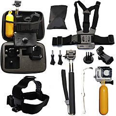 cheap Accessories For GoPro-Telescopic Pole Chest Harness Front Mounting Case/Bags Straps Mount / Holder Waterproof Floating For Action Camera Gopro 6 All Gopro