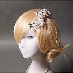 חיקוי פנינה ריינסטון מסרקי שיער נטו headpiece סגנון אלגנטי