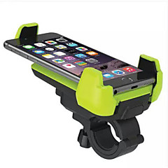 Telefonholderstativ Cykel Motorcykel Udendørs Styr Justerbar Stander Plastik for Mobiltelefon