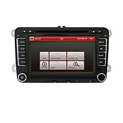 7 inch 2DIN dvd player auto pentru Volkswagen cu sistem de navigatie, canbus, RDS, bt, traiectorie de parcare, iPod, touch screen