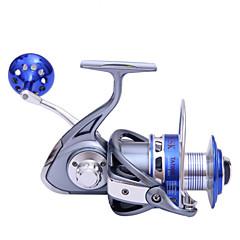 30KG Power Drag 4.7:1 8+1 Ball Bearings Spinning Reels Sea Fishing Boat Fishing Jigging Fishing Reel 9000 Size