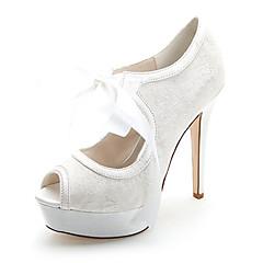 Γάμος Παπούτσια - Γυναικεία - Peep Toe - Πέδιλα - Γάμος   Πάρτι   Βραδινή  Έξοδος - Μαύρο   Μπλε   Ροζ   Ιβουάρ   Άσπρο 1f0b1d1340e