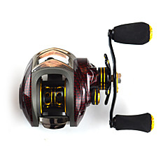 SHISHAMO 6.3:1, 18 Ball Bearings One Way Clutch BC150 Baitcasting Reel Fishing Reel, Right Handed Carp Fishing Reel
