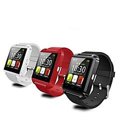 tanie Inteligentne zegarki-Do noszenia Bluetooth 4.0 - Odbieranie bez użycia rąk / Obsługa wiadomości / Obsługa aparatu -Rejestrator aktywności fizycznej / Stoper /