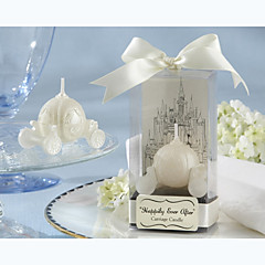 """Happily Ever After"" Carriage Candle Bridal Shower Favors Wedding Favors"