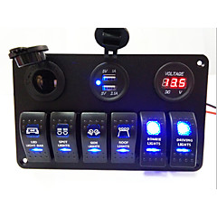 cheap Auto Parts-LED Rocker Switch Panel(New Products)