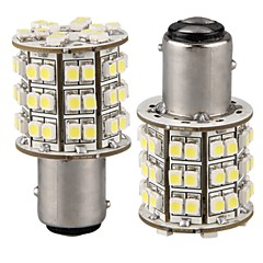 billige Interiørlamper til bil-2pcs 1157 Bil Elpærer SMD 3528 60 LED Baklys For Universell