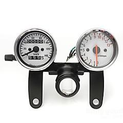 motorkerékpár kilométeróra fordulatszámmérő sebességmérő műszer fekete tartóval
