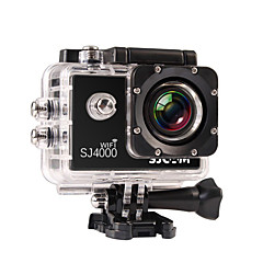SJCAM SJ4000 WIFI Action Camera / Sports Camera 3MP / 5MP / 12MP / 8MP / 2MP 1920 x 1080 WIFI / 防水 4X ±2EV 1.5 CMOS 32 GB H.264 30 M