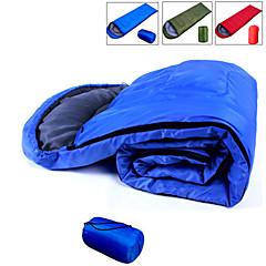寝袋 封筒型 +5°C~+15°C°C 保温 速乾性 ビデオ圧縮 超軽量(UL) 190CM+30cmX75cm 狩猟 ハイキング キャンピング 旅行 屋外 シングル 幅150 x 長さ200cm
