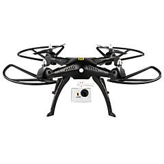 billige Fjernstyrte quadcoptere og multirotorer-RC Drone HUANQI H899B005 4 Kanaler 6 Akse 2.4G Uten kamera 5.0MP 5 mega-pixel Fjernstyrt quadkopter En Tast For Retur Hodeløs Modus