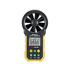 tanie Testery i detektory-peakmeter ms6252a wielofunkcyjny cyfrowy wiatromierz / objętość powietrza / temp / wilgotności